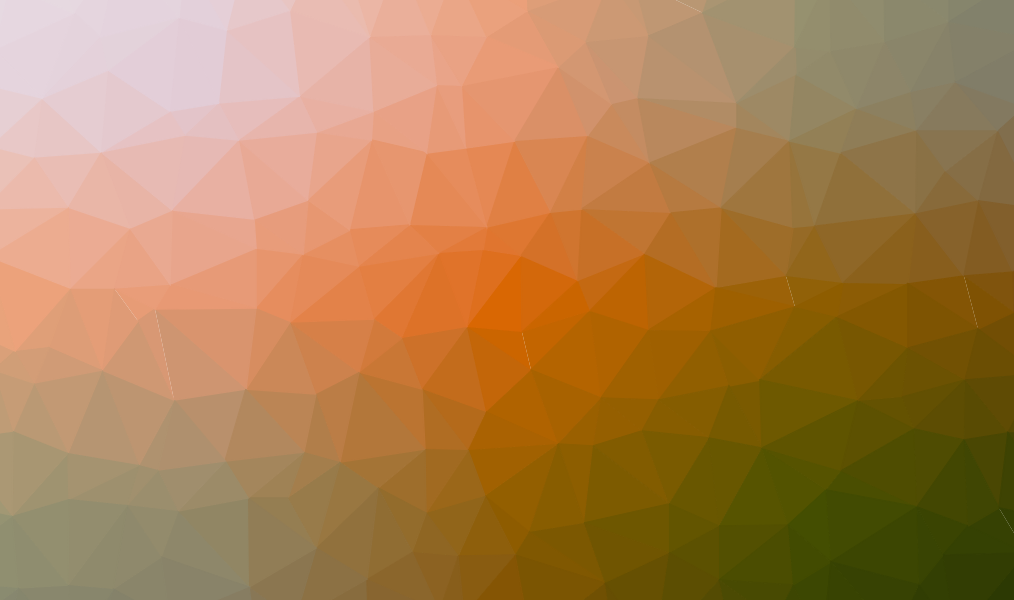 Background image of orange and green geometric shapes